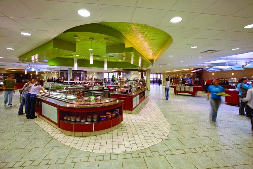 The university of richmond dining services us builders for U of t dining hall